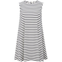 Glamorous Women's Nautical Stripe Dress - White Womens Clothing | TheHut.com