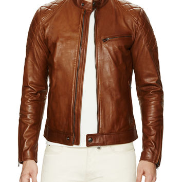 Capo Leather Braxton Jacket