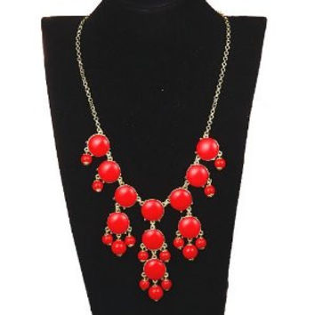 Bubble Necklace Red Mini Size