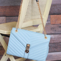 CoCo Purse in Baby Blue