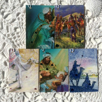 Christmas Tags, Wise Men Gift Tags, Holiday Gift Wrap, Christmas Story Tags - Set of 10