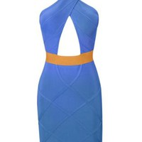 Bqueen Sexy Drain Back Bandage Dress HL014