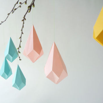 Origami Template Crystal