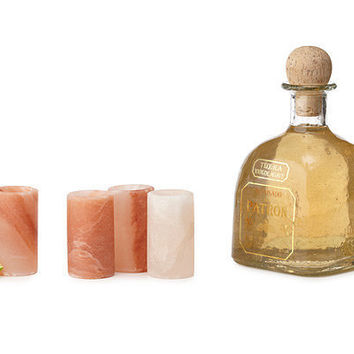 HIMALAYAN SALT TEQUILA GLASSES- SET OF 4