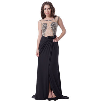 RW70347 Embroidered mesh wrap maxi dress sleeveless floor length sexy party dress backless hollow out plus size women dresses
