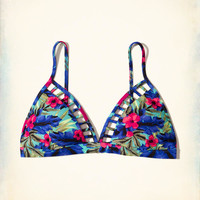 Girls Strappy Triangle Bikini Top | Girls Swimwear | HollisterCo.com