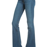 Denim Flared Jean (Multiple Colors Available)