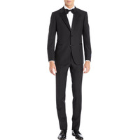 Lanvin Satin Trimmed Tuxedo Suit at Barneys New York at Barneys.com