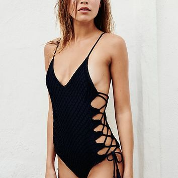 Crochet Florence One-Piece Swimsuit