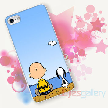Snoopy And Charlie Brown for iPhone 4/4S, iPhone 5/5S, iPhone 5C, iPhone 6 Case - Samsung S3, Samsung S4, Samsung S5 Case