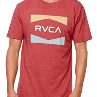 RVCA RVCA Nation T-Shirt - Mens Tee - Red
