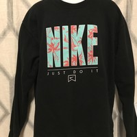 "Men's Nike Graphic ""Just Do It"" Sweater"