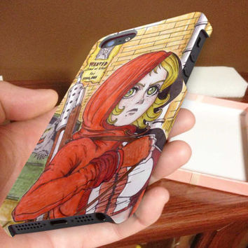 fairy tales, little red riding hood 3D iPhone Cases for iPhone 4,iPhone 4s,iPhone 5,iPhone 5s,iPhone 5c,Samsung Galaxy s3,samsung Galaxy s4