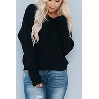 Winter Exposure Sweater (Black)