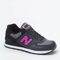 New Balance 574 Sweatshirt Gray Sneakers - Womens Shoes - Gray