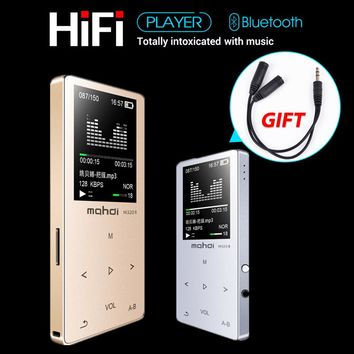 HIFI Lossless Bluetooth 4.0 MP3 Player Recorder FM Video E-book 8GB Radio Sport Wireless Music Player Support OTG Link
