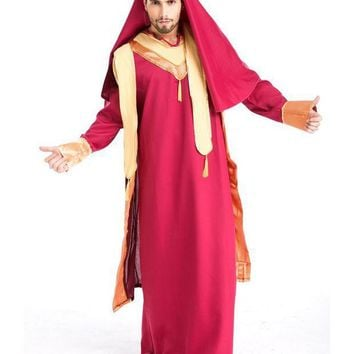 PEAPON MOONIGHT New Arrival Arab Prince King Clothes For Men Halloween Party Fancy Costume Cosplay Costume