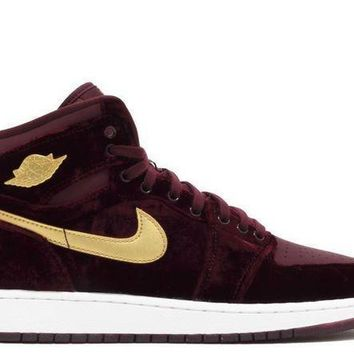 PEAPGE2 Beauty Ticks Air Jordan 1 Velvet