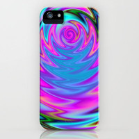 Psychedelic 60s iPhone Case by Alice Gosling | Society6