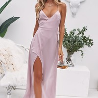 Dance With Me Maxi Dress (Blush)