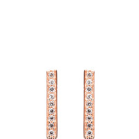 Maria Pave Stick Earrings