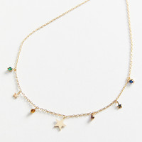 Star-Crossed Short Charm Necklace | Urban Outfitters
