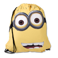 Despicable Me™ Two-Eye Minion Drawstring Backpack | Universal Orlando™