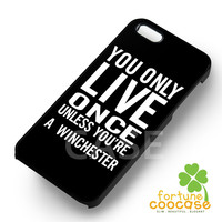 supernatural quote-1nnya for iPhone 4/4S/5/5S/5C/6/ 6+,samsung S3/S4/S5,S6 Regular,S6 edge,samsung note 3/4