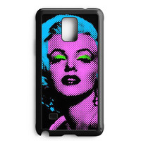 Marilyn Monroe Tattoo Floral Samsung Galaxy Note 4 Case