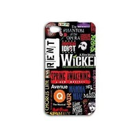 New York Broadway Collage Cute Case iPhone Hot Fun Cover Black Phone Cool Custom