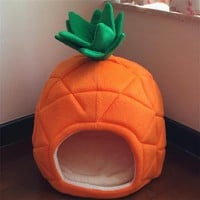 Cartoon Dog House Nest With Mat Pet Dog Bed Cat Bed Cat House Small Medium Dogs Travel Pet Puppy Bed Sleeping Bag Totoro Bed