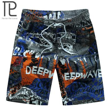 Men's Quick Dry Boardshorts with Pocket Breathable Board Shorts Beach Short for Crossfit Surfing Swimming Water Sport Pool Party