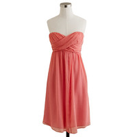 J.Crew Womens Taryn Dress In Silk Chiffon