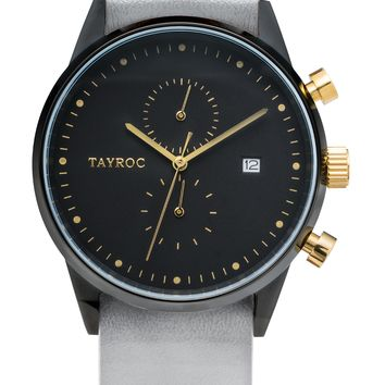 TXM087 - Grey Leather NATO