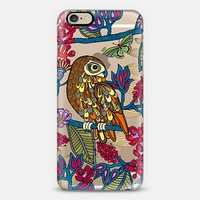 My boobook owl iPhone 6 case by Julia Grifol. Surface and textile designer. | Casetify