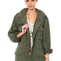 The Olive Drab Vintage M-65 Field Jacket
