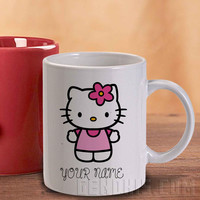 Hello Kitty Mug And Cup / Custom Mug / Custom Cup