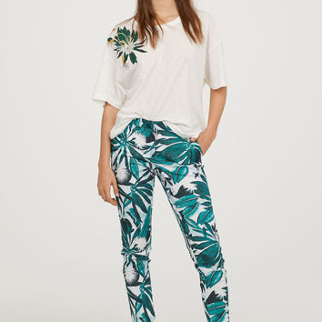 H&M Patterned Slacks $29.99