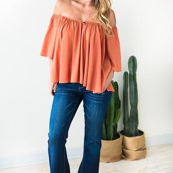 Can't Let Go Shaded Flare Jeans