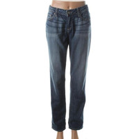 Paige Womens Jimmy Denim Boyfriend Skinny Jeans