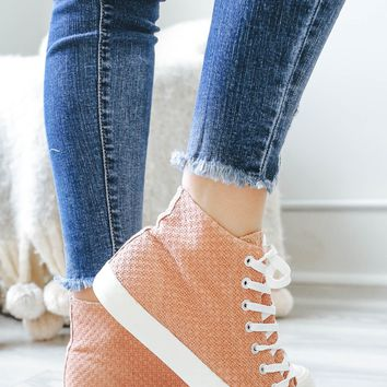 Wander About High Tops - Dark Peach