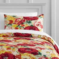 Savannah Garden Duvet Bedding Set with Duvet Cover, Duvet Insert, Sham, Sheet Set + Pillow Inserts