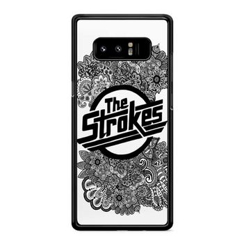 The Strokes Zentangle Logo Samsung Galaxy Note 8 Case