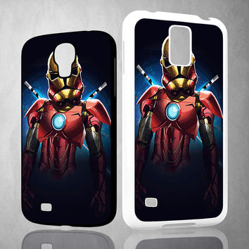 Iron Man Clone V1161 Samsung Galaxy S3 S4 S5 (Mini) S6 S6 Edge,Note 2 3 4, HTC One S X M7 M8 M9 Cases