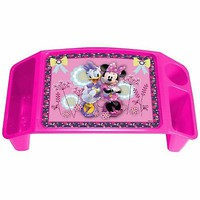 Travel Desk Kids Car Lap Easel Art Tray Trays Kit Eating Kid Minnie Mouse Girl