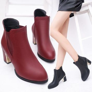 ac VLXC On Sale Hot Deal Dr. Martens Winter England Style With Heel Waterproof Zippers Boots [9257016716]