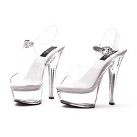 Glass Slipper Shoes - Adult (White)