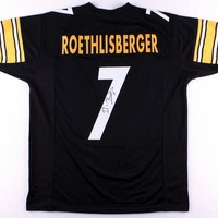 Ben Roethlisberger Signed Autographed Pittsburgh Steelers Football Jersey (JSA COA)