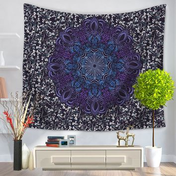 India Mandala Wall Hanging Home Decoration Tapestry Psychedelic Bedspreads Beach Mat Yoga Mat Shawls 130cmx150cm 150cmx200cm
