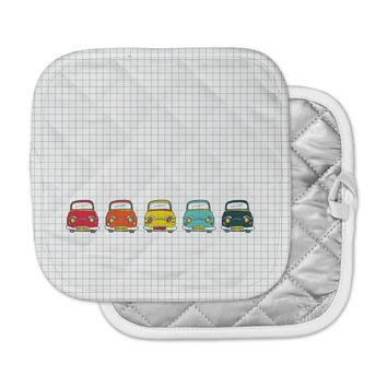 "MaJoBV ""Boys Rock"" Multicolor Cars Pot Holder"